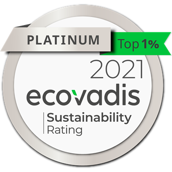 2019 Gold Level CSR Rating Ecovadis