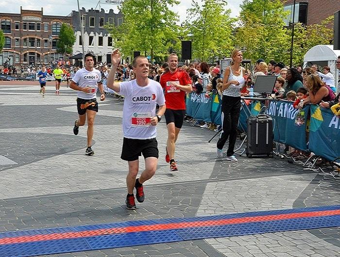 Botlek team participates in Amersfoort marathon