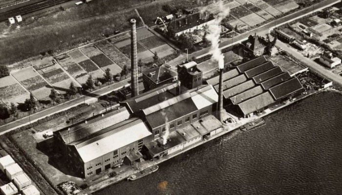 Zaandam plant during World War II