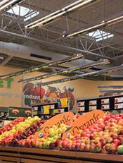 Hannaford Brothers Store in Augusta Maine USA