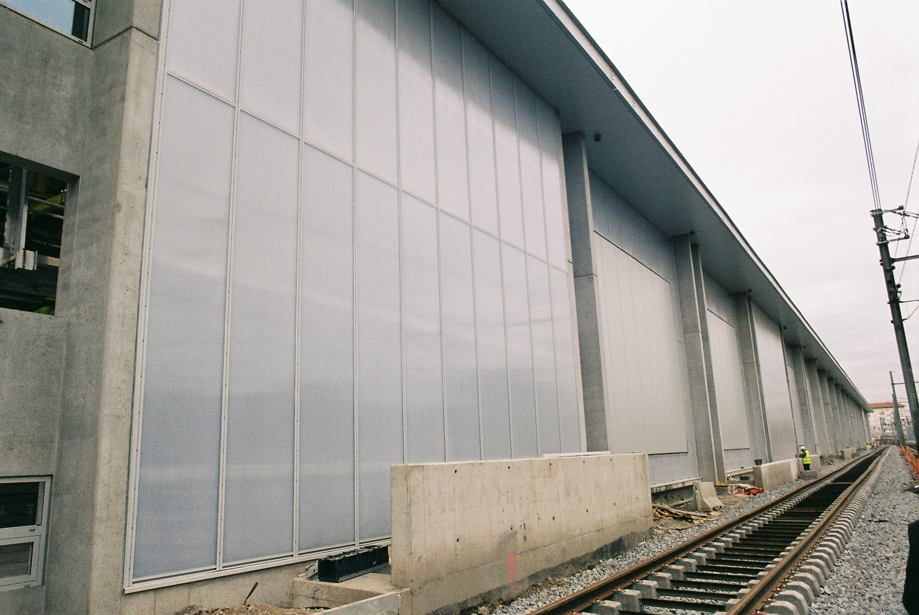TVG Train Maintenance Facility in France